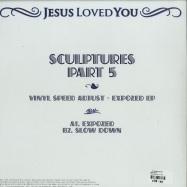 Back View : Vinyl Speed Adjust - EXPOZED EP - Jesus Loved You / JLY022