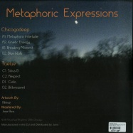 Back View : Various Artists - METAPHORIC EXPRESSIONS (2X12 INCH LP, GATEFOLD, 140 G VINYL) - Perpetual Rhythms / PERP 007