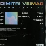 Back View : Dimitri Veimar - LESS TALK EP - Turbo Recordings / TURBO189