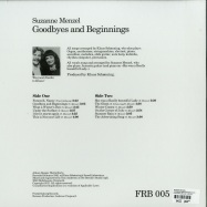 Back View : Suzanne Menzel - GOODBYES AND BEGINNINGS (LP) - Frederiksberg Records / FRB 005