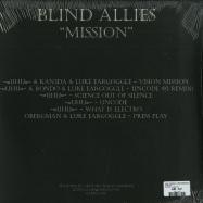 Back View : UHU / Kan3da / Luke Eargoggle / Rondo / Obergman - MISSION - Blind Allies / BAREC 006