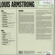 Back View : Louis Armstrong - FIREWORKS (LP) - Dreyfus Jazz / 405053848388
