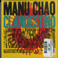 Back View : Manu Chao - CLANDESTINO / BLOODY BORDER (CD, LIMITED) - Because Music / BEC5543731