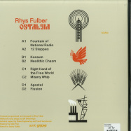 Back View : Rhys Fulber - OSTALGIA (2LP) - Sonic Groove / SGLP06