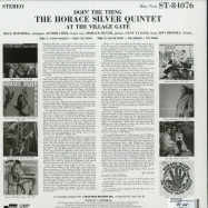 Back View : The Horace Silver Quintet - DOIN THE THING - AT THE VILLAGE GATE (LP) - Blue Note / 0807383