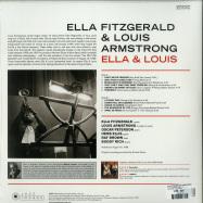 Back View : Ella Fitzgerald & Louis Armstrong - ELLA & LOUIS (180G LP) - Jazz Images / 1019153EL2