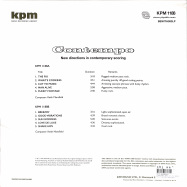 Back View : Keith Mansfield - CONTEMPO (KPM) (LP) (2021 REISSUE 180G VINYL) - BE WITH RECORDS / BEWITH093LP