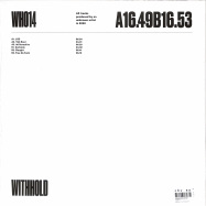 Back View : Unknown Artist - WH014 - Withhold / WITHHOLD014