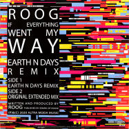 Back View : Roog - IF EVERYTHING WENT MY MAY - High Fashion / MS 508