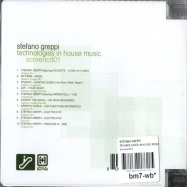 Back View : Stefano Greppi - TECHNOLOGIES IN HOUSE MUSIC - Screencd01