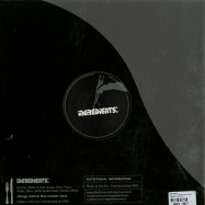 Back View : Ruffhouse - THE FOOT / BYPASS (CLEAR VINYL) - Ingredients / RECIPE030