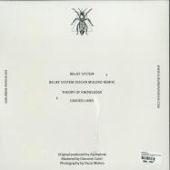 Back View : ASYMPTOTE - BELIEF SYSTEM (OSCAR MULERO RMX) - Suburban Avenue / SAV009