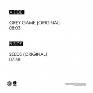 Back View : Dean Demanuele - GREY GAME (FULL COVER EDITION) - Dazed & Confused Rec / DNC024fc