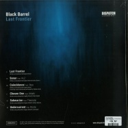 Back View : Black Barrel - LAST FRONTIER LP (TURQUOISE & BLACK 2X12 LP) - Dispatch / DISBBLP001