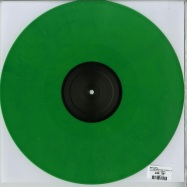 Back View : Ewa Justka - YOU ARE REPEATING YOURSELF INDEED EP (GREEN VINYL) - Inner Surface Music / INNER015