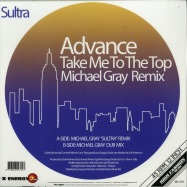 Back View : Advance - TAKE ME TO THE TOP (MICHAEL GRAY REMIX) (COLOURED EDITION) - High Fashion Music / MS 479 - COLOR