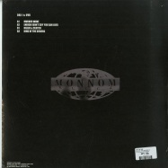 Back View : Dax J & UVB - KING OF THE SEWERS EP - Monnom Black / MONNOM019