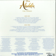 Back View : Various Artist - ALADDIN: THE SONGS  - O.S.T. (LP) - Walt Disney Records / 8741983