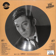 Back View : Serge Gainsbourg - VINYLART - THE PREMIUM PICTURE DISC COLLECTION (PIC LP) - Wagram / 05195181