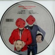 Back View : Marc De Vole & Tonmotiv - GLUECKS EP (PICTURE VINYL) - Beatwax / BW008