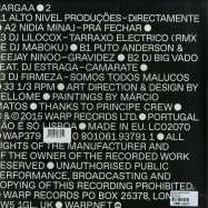 Back View : Various Artists - CARGAA 2 (12 INCH + MP3) - Warp Records / Wap379