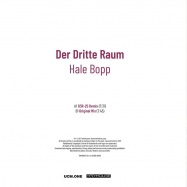 Back View : Der Dritte Raum - HALE BOPP (COVER EDITION) - Harthouse / HHMA027/3a/dc