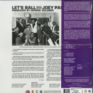 Back View : Joey Pastrana & His Orchestra - LETS BALL - Get On Down / GET59004LP