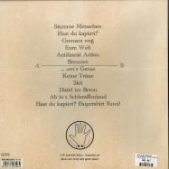 Back View : Feine Sahne Fischfilet - WUT IM BAUCH, TRAUER IM HERZEN (LP) - Audiolith / AL160 / 2423992