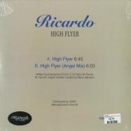 Back View : Ricardo - HIGH FLYER (ANGEL MIX) (140 G VINYL) - Vibraphone / VIBR 020