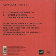 Back View : Floyd Lavine - HARARE EP - Rise Music / RISE004