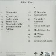 Back View : Fabian Roemer - L_BENSLAUF (LP) - Jive Germany / 88985348871