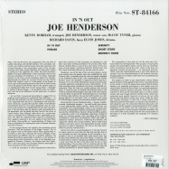 Back View : Joe Henderson - IN N OUT (180G LP) - Blue Note / ST-84166 / 0802773
