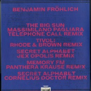 Back View : Benjamin Froehlich - AMIATA REMIXES - Permanent Vacation / PERMVAC192-1