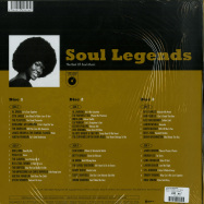 Back View : Various Artists - SOUL LEGENDS (3LP BOX) - Wagram / 3369346 / 05180421