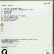 Back View : Templebeat - INTERZONE (LP) - Aspecto Humano / AHLP001