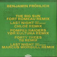 Back View : Benjamin Froehlich - AMIATA REMIXES 2 - Permanent Vacation / PERMVAC196-1