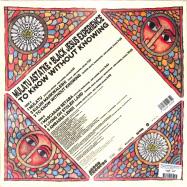 Back View : Mulatu Astatke And Black Jesus Experience - TO KNOW WITHOUT KNOWING (LP) - Agogo / ARVL135 / 05196571