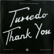 Back View : Tuxedo - THANK YOU (7 INCH) - Stones Throw / STH7058
