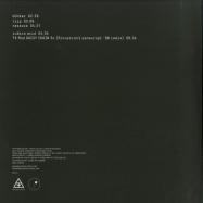 Back View : Brainwaltzera - BUNKER EP (White Coloured Vinyl) - Analogical Force / AF014