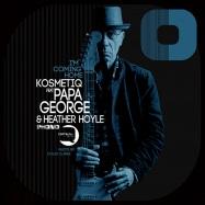Back View : Kosmetiq - IM COMING HOME FEAT PAPA GEORGE (BLUE COLOURED VINYL) - Qritikal Records / PHONO001