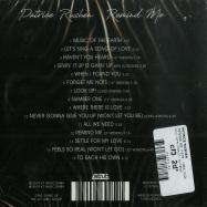 Back View : Patrice Rushen - REMIND ME (1978 - 1984) (CD) - Strut / STRUT205CD / 05178502