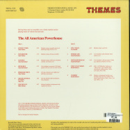 Back View : Various Artists - THE ALL AMERICAN POWERHOUSE (THEMES) (180 G VINYL) - BE WITH RECORDS / BEWITH073LP