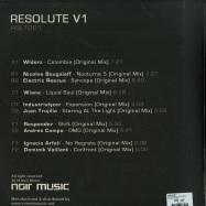 Back View : Noir Music - RESOLUTE V1 (3X12 INCH) - Noir Music / RSLT001