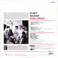 Back View : Chet Baker - CHET BAKER AND CREW (180G LP) - Jazz Images / 1019106EL2