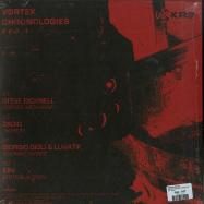 Back View : V/A (Steve Bicknell, Zadig, Iori, Giorgio Gigli & Lunatik) - VORTEX CHRONOLOGIES EVO.1 - KR3 / KR3001