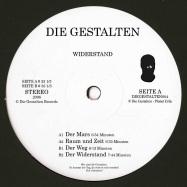 Back View : Die Gestalten - WIDERSTAND (180G / VINYL ONLY) - Die Gestalten / DIEGESTALTEN004