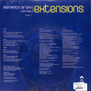 Back View : Elements of Life - ELEMENTS OF LIFE - EXTENSIONS PART 1 (2x 12 INCH) - Vega Records / VR193