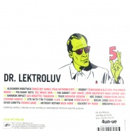 Back View : Dr.Lektroluv - LEKTROLUV 5 (CD) - News 541416 501202