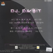 Back View : DJ Da-Bit - D.A.B.K.A.R. - Sinthetic Records / sw06