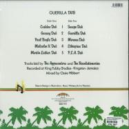 Back View : Aggrovators & Revolutionaries - GUERRILLA DUB (LTD 180G LP) - Burning Sounds / BSRLP984